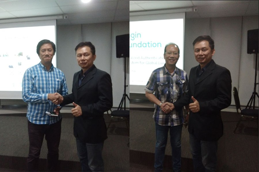 With our quiz winner. Congratulations Mr. Ludi and Mr.Yosafat