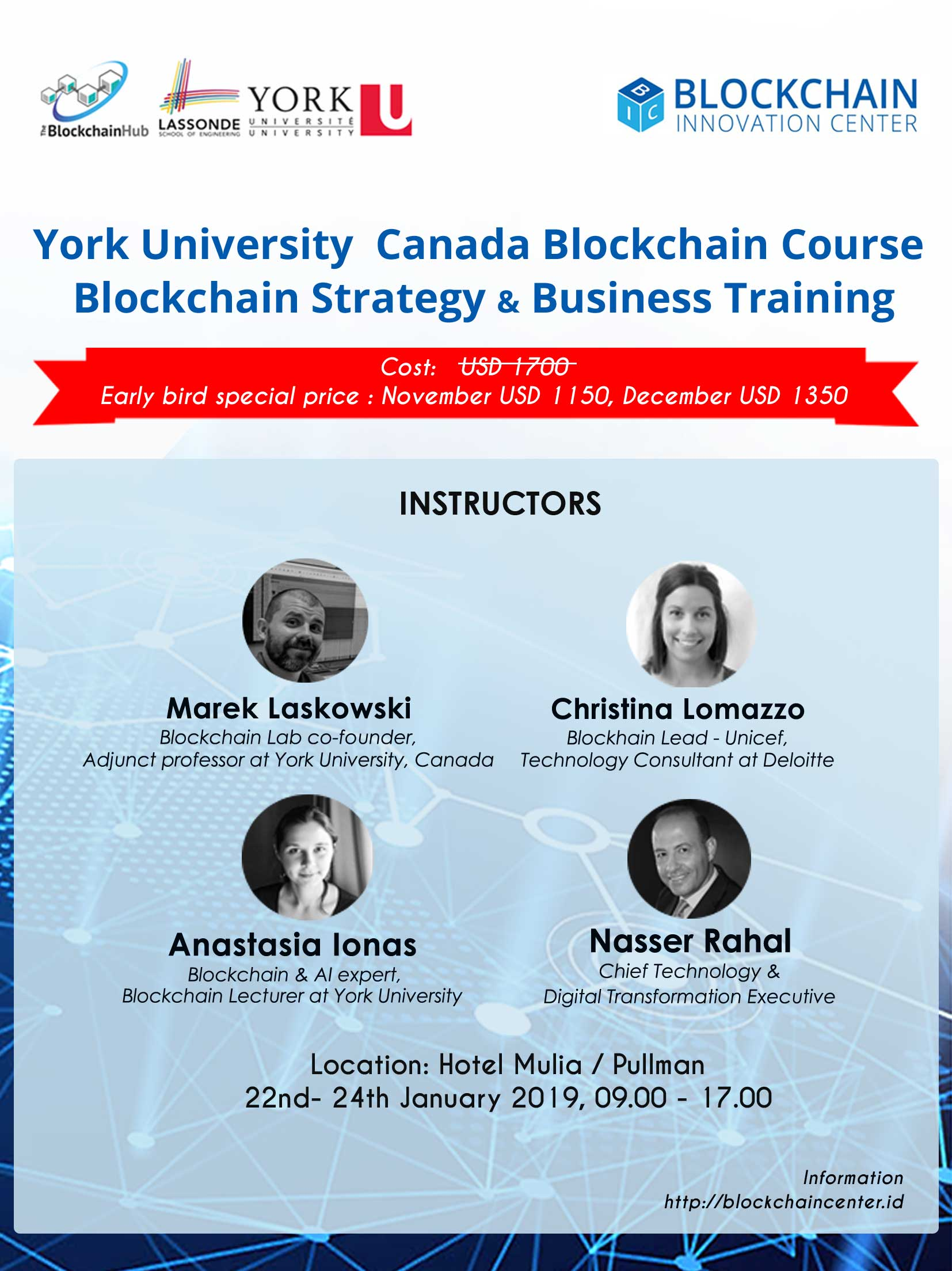 Blockchain Strategy and Business Training